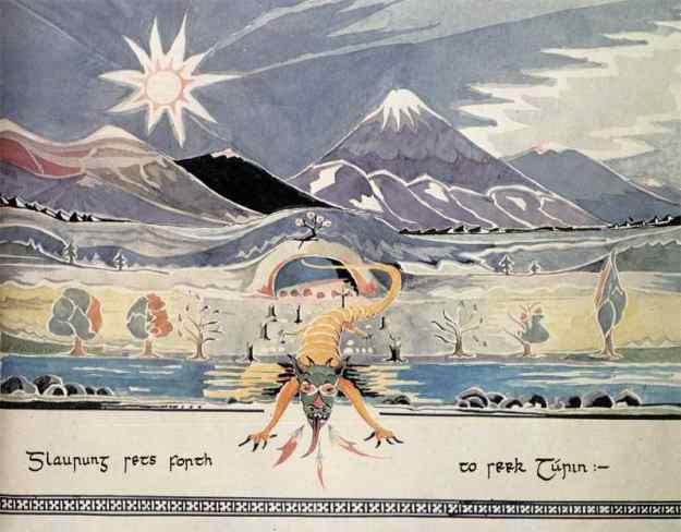 Glaurung by J.R.R. Tolkien © The Tolkien Estate