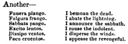 bells, from cambridgeshire, a theological dictionary