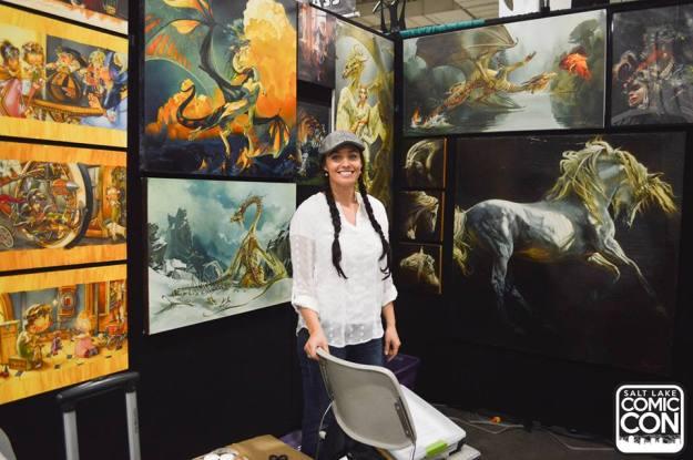 Heather Theurer at Salt Lake Comic-Con. ©Salt Lake Comic Con 2015.