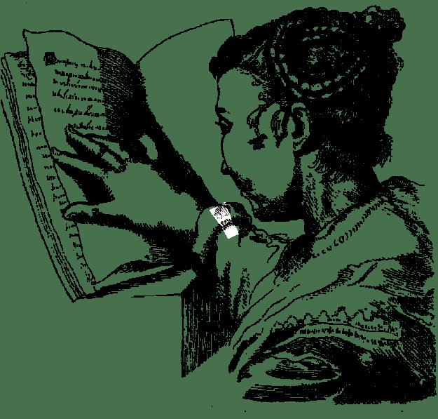 Reading Woman by Susanne Maria von Sandrart