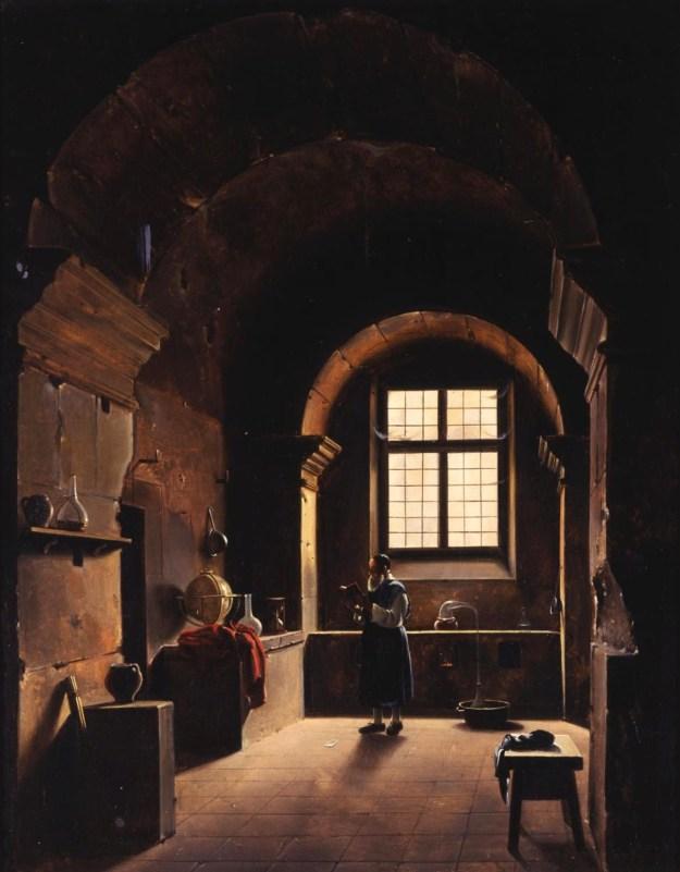The Alchemist by Francois Marius Granet.