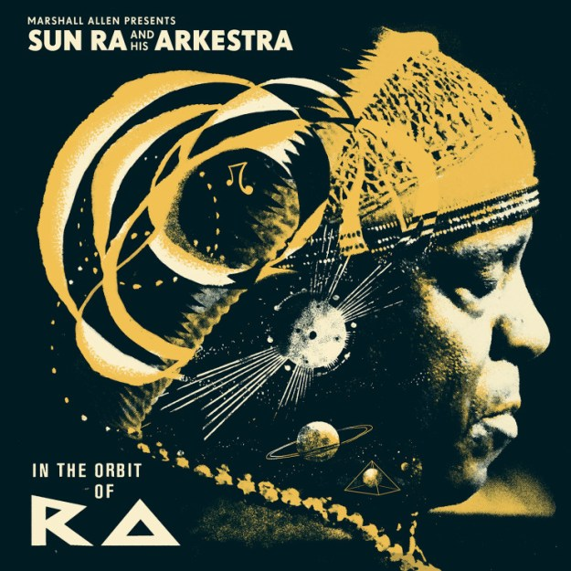 "Album cover for ""In the Orbit of Ra"" via Strut Records."