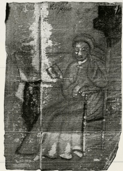 "Image of Johannes Kelpius from""The Diarium of Magister Kelpius""."