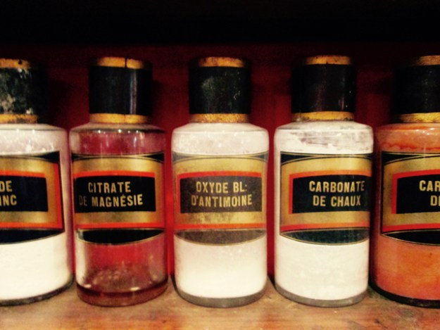 Part of the apothecary's collection. Photo by The Thinker's Garden.