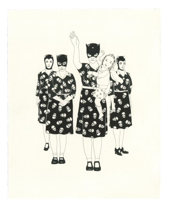 Bye Bye Mummy by Delphine Lebourgeois.