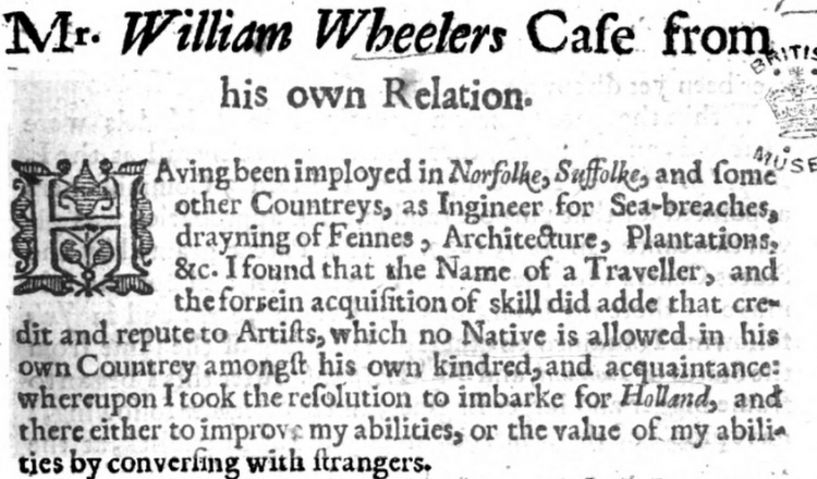 early modern Archives - The Thinker's Garden