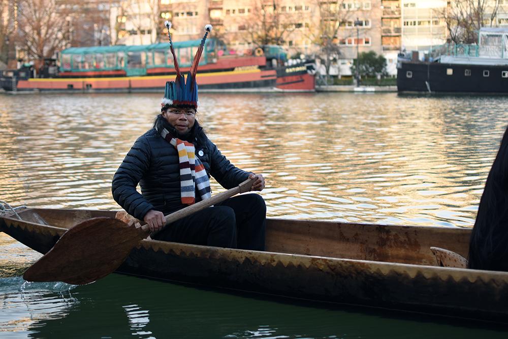 Kichwa leader Jose Gualinga.
