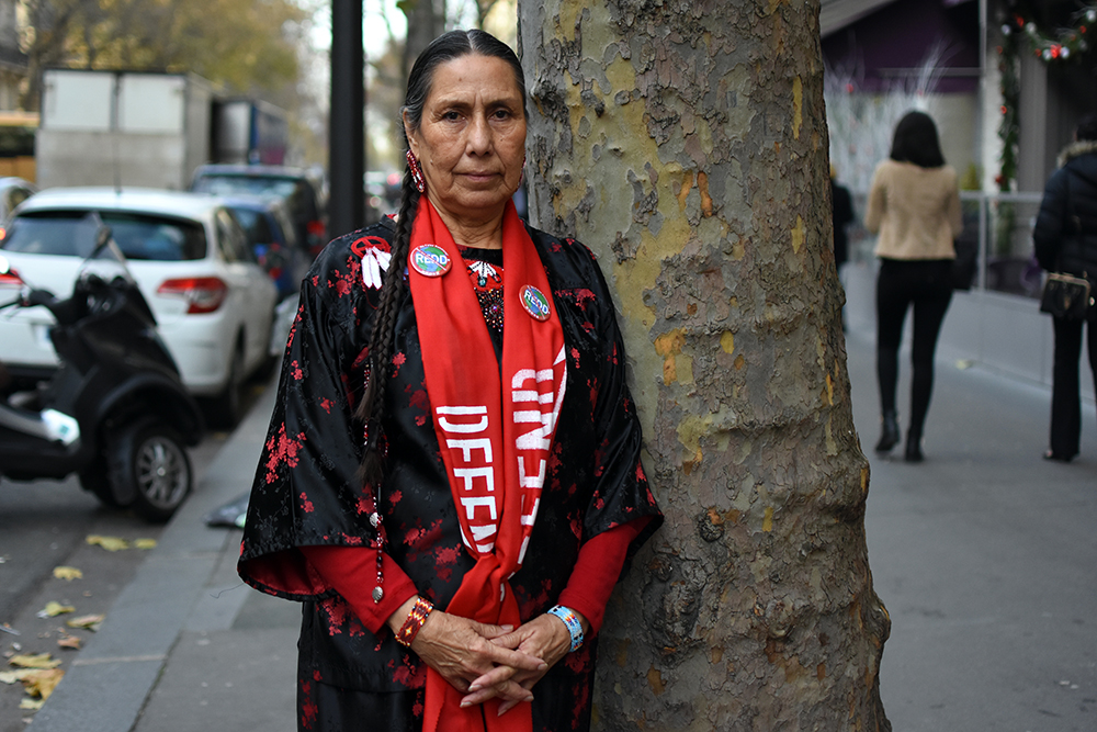 The Third Eye Magazine_Photography Sophie Pinchetti Copyright 2015-Casey Camp Horinek_Ponca_indigenous_cop21-paris-01