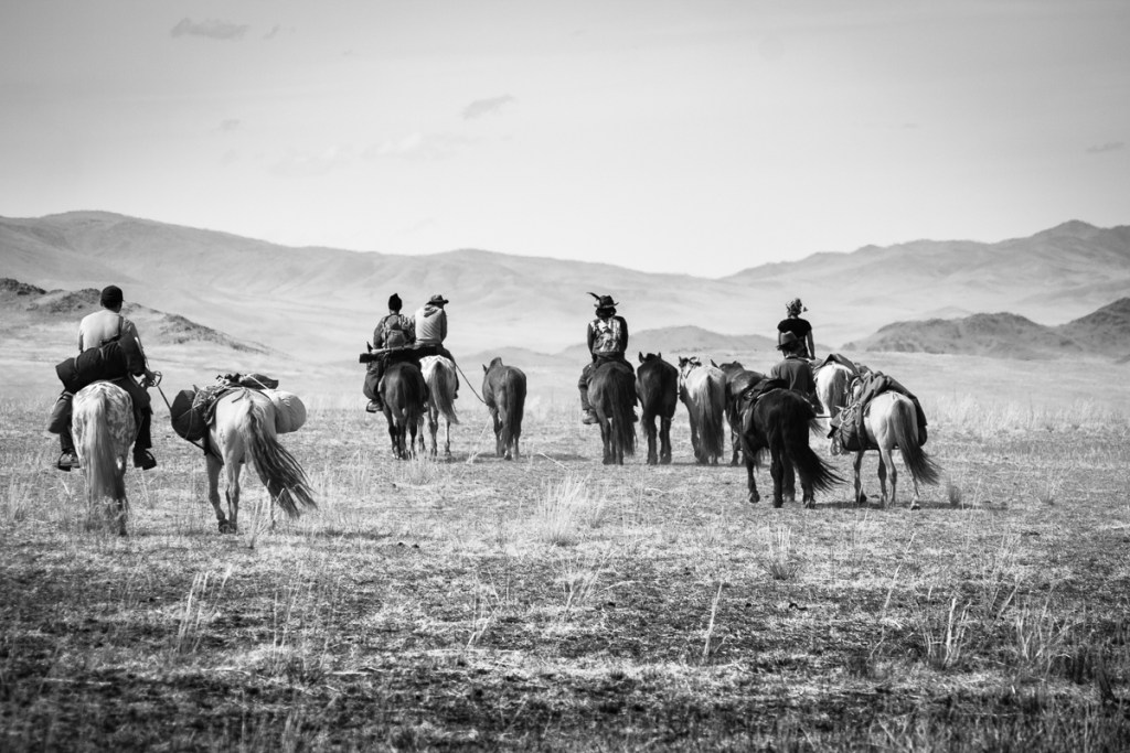 Nomad Trails of A HORSE CARAVAN IN MONGOLIA