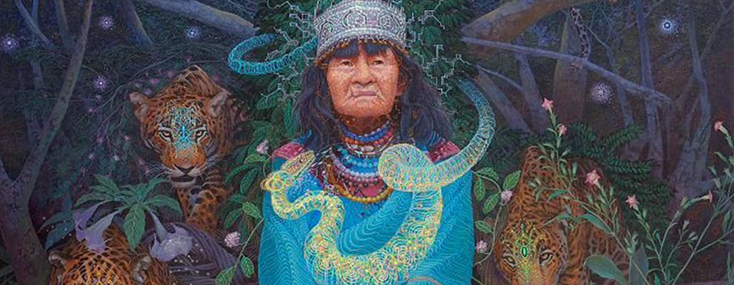 A HEALING IKARO SONG BY LEGENDARY AMAZONIAN SHAMAN OLIVIA AREVALO