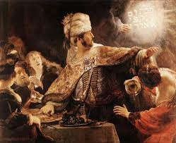 Belshazzar and Daniel the writing on the wall Daniel 5 bible study