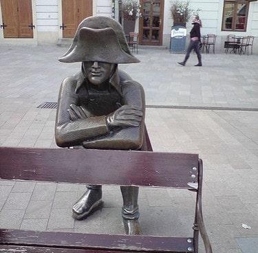 French soldier in Bratislava