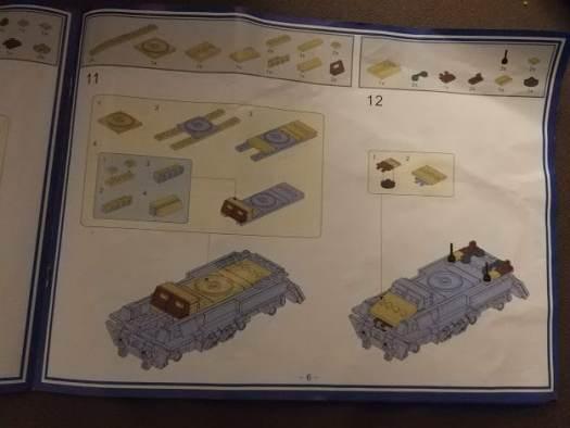 The Kazi lego Tank instructions
