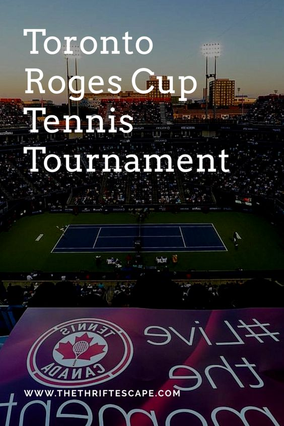 Toronto Rogers Cup Tennis Tournament