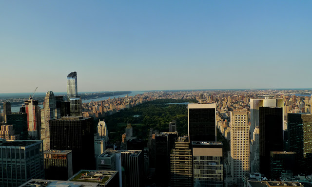 solo backpacking New York City - Top of the Rock