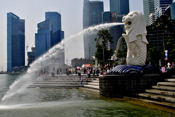 Singapore 3-Day Budget Itinerary - Merlion Park