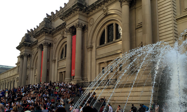 solo backpacking New York City - The MET