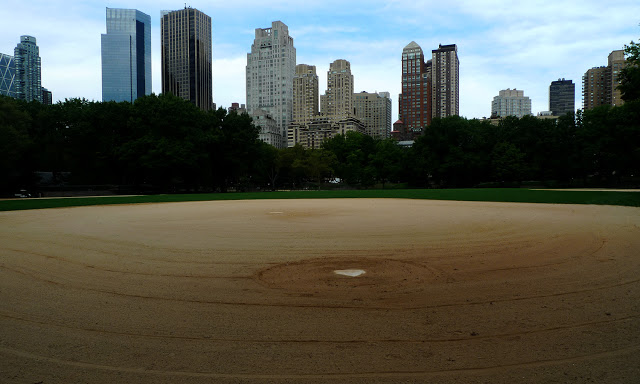 solo backpacking New York City - central park