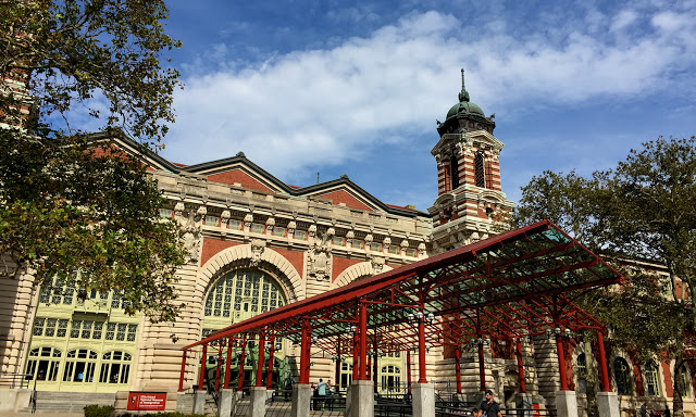 solo backpacking New York City - Ellis Island