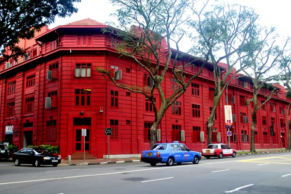 Singapore 3-Day Budget Itinerary - red design museum