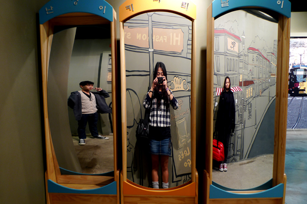 South Korea 4 Days Budget Itinerary - Trick Eye Museum