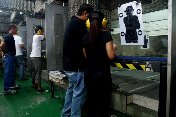 First Firing Experience at Manila Target Shooting Range (MSR)