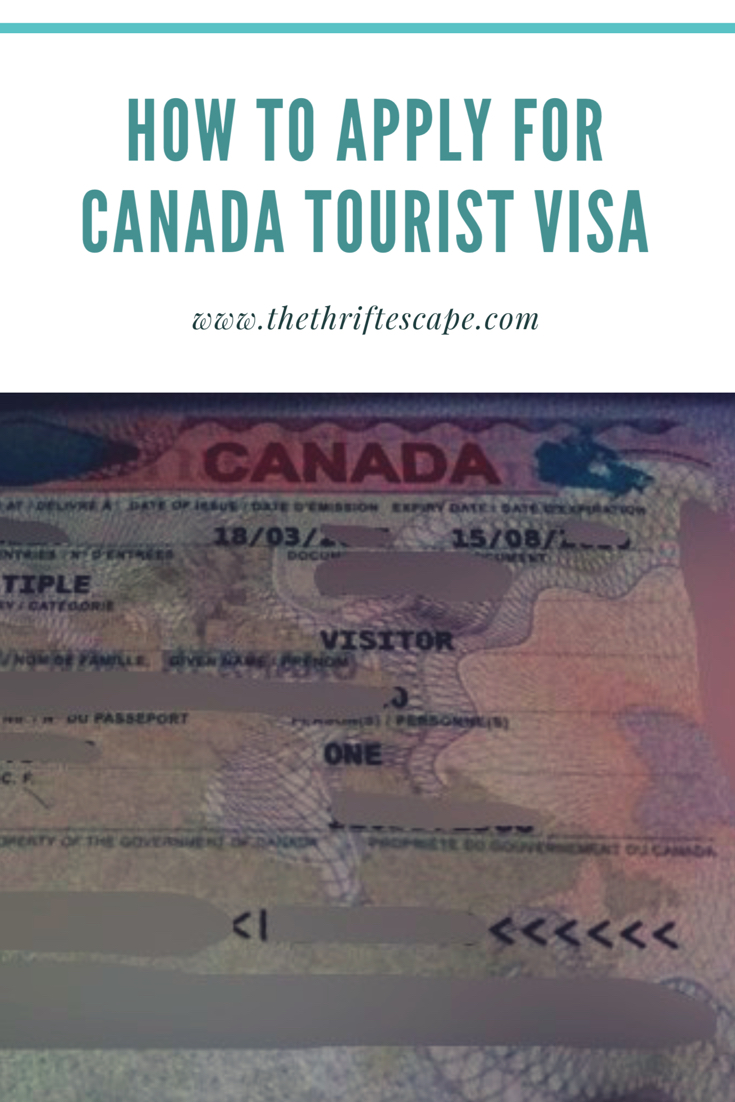 How to apply for Canada Tourist Visa