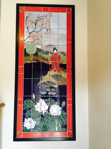 Japanese Lady Mural