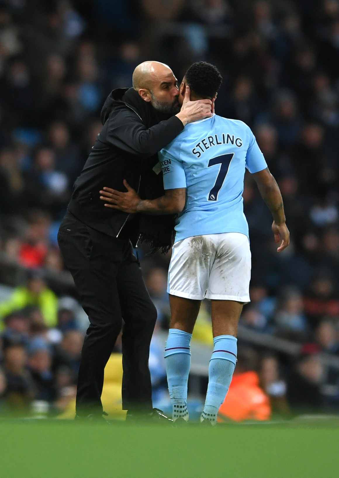 Pep Guardiola says racism is everywhere after abuse of 'incredible' Raheem Sterling   Sport   The Times