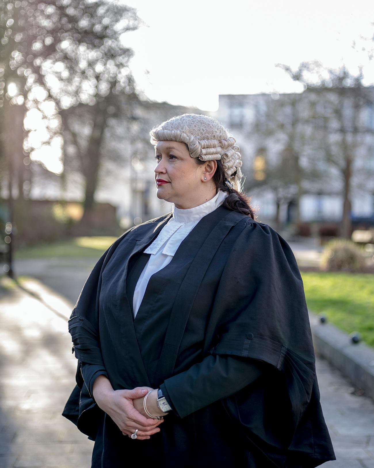 "Fair hearing: the barrister Mary Aspinall-Miles worries about ""unconscious bias"""