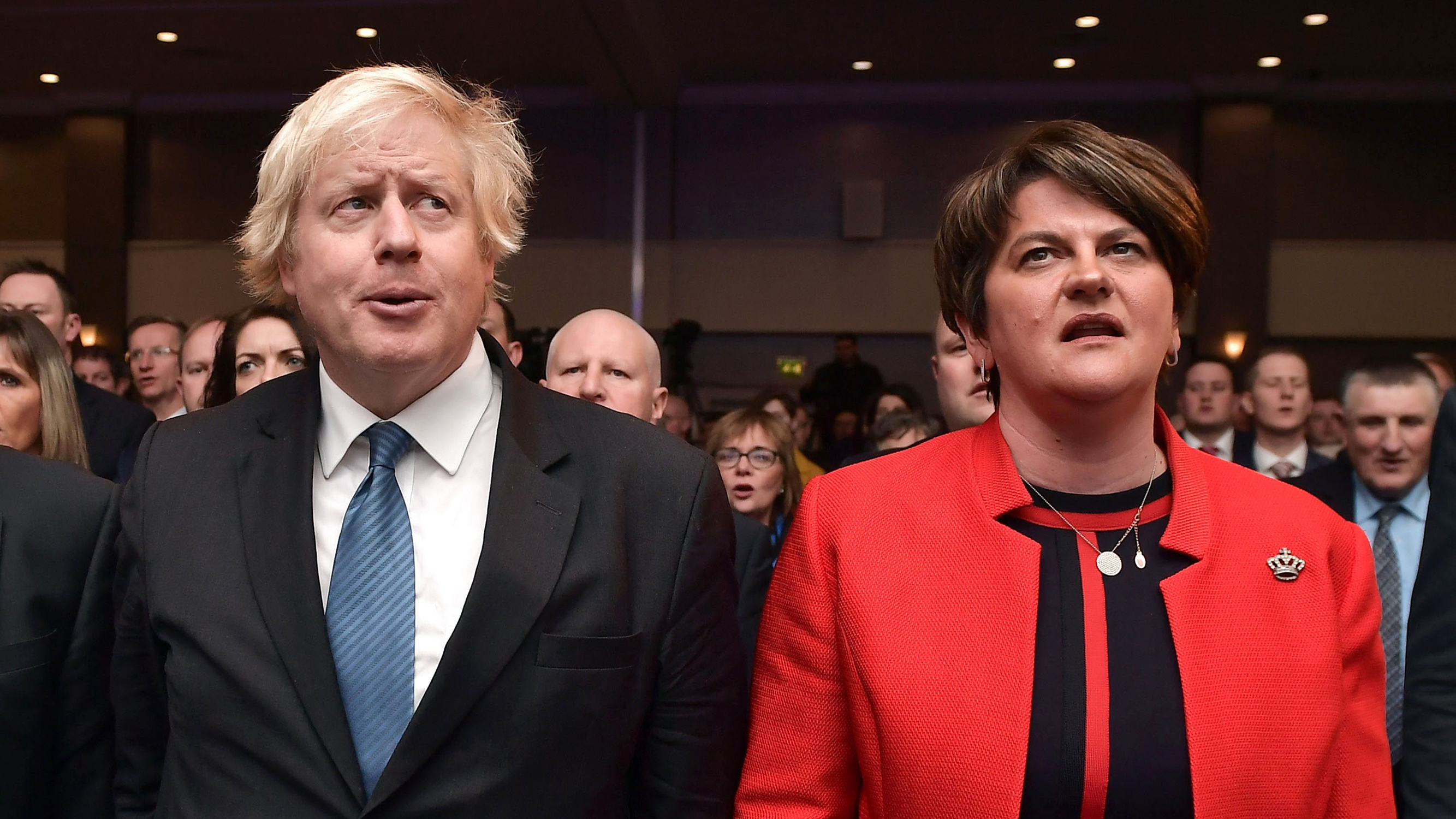 Image result for boris johnson and dup