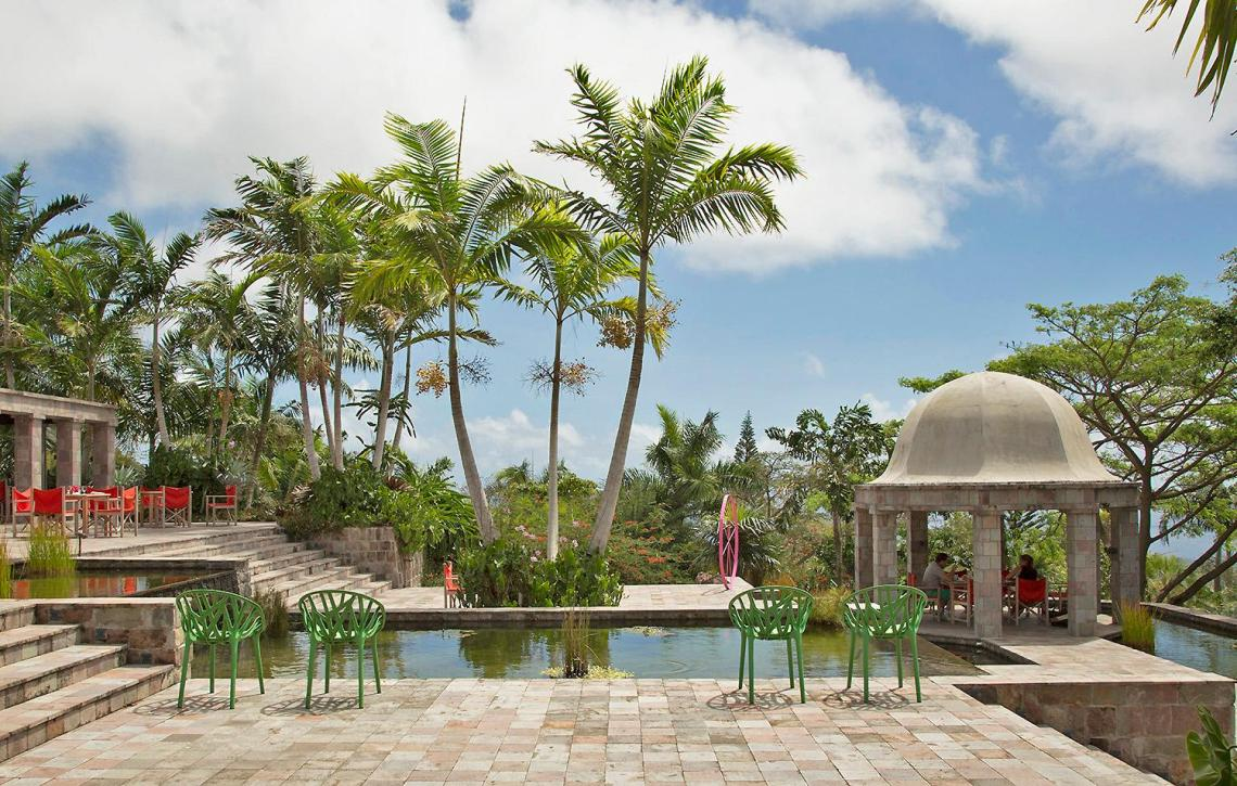 The stylish Golden Rock Inn on increasingly fashionable Nevis