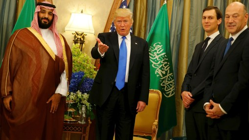 trump and saudis impose deal on palestinians