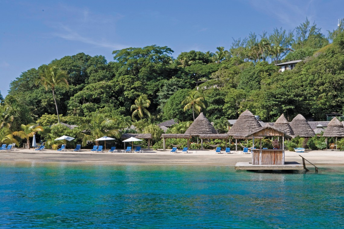 Young Island Resort is a private island at a modest price