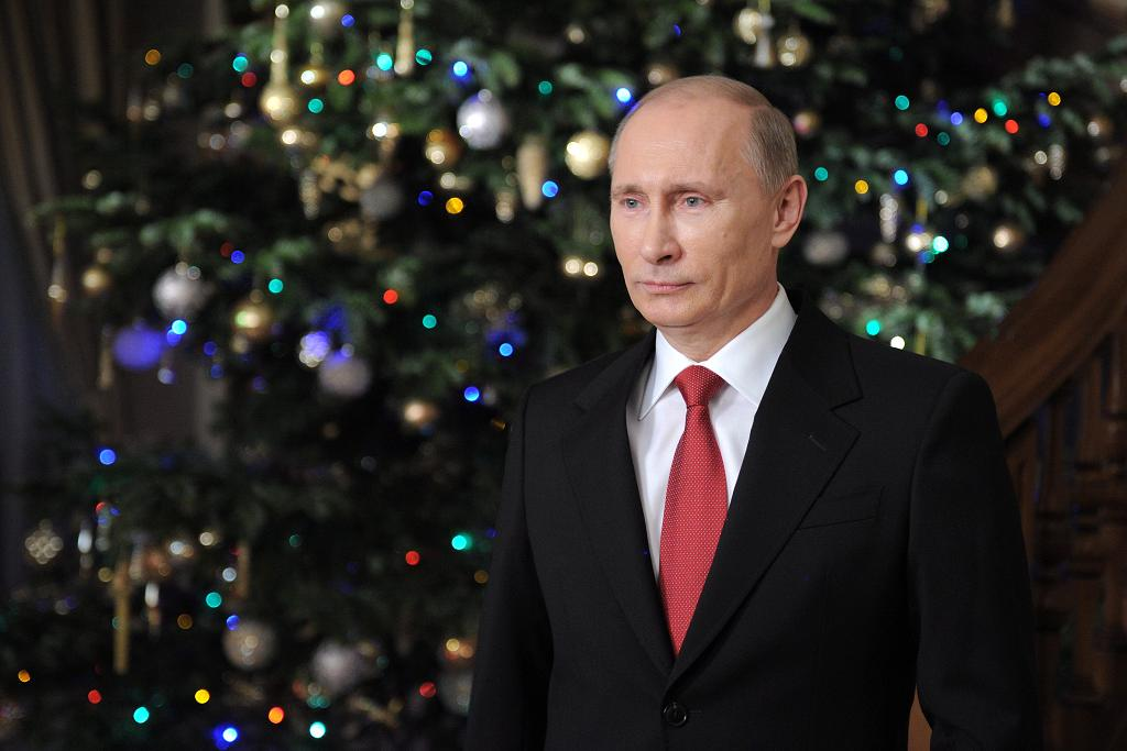 World leaders offer New Year messages of hope and sarcasm   The Times Seasons greetings even to you opposition perverts  says Vladimir Putin