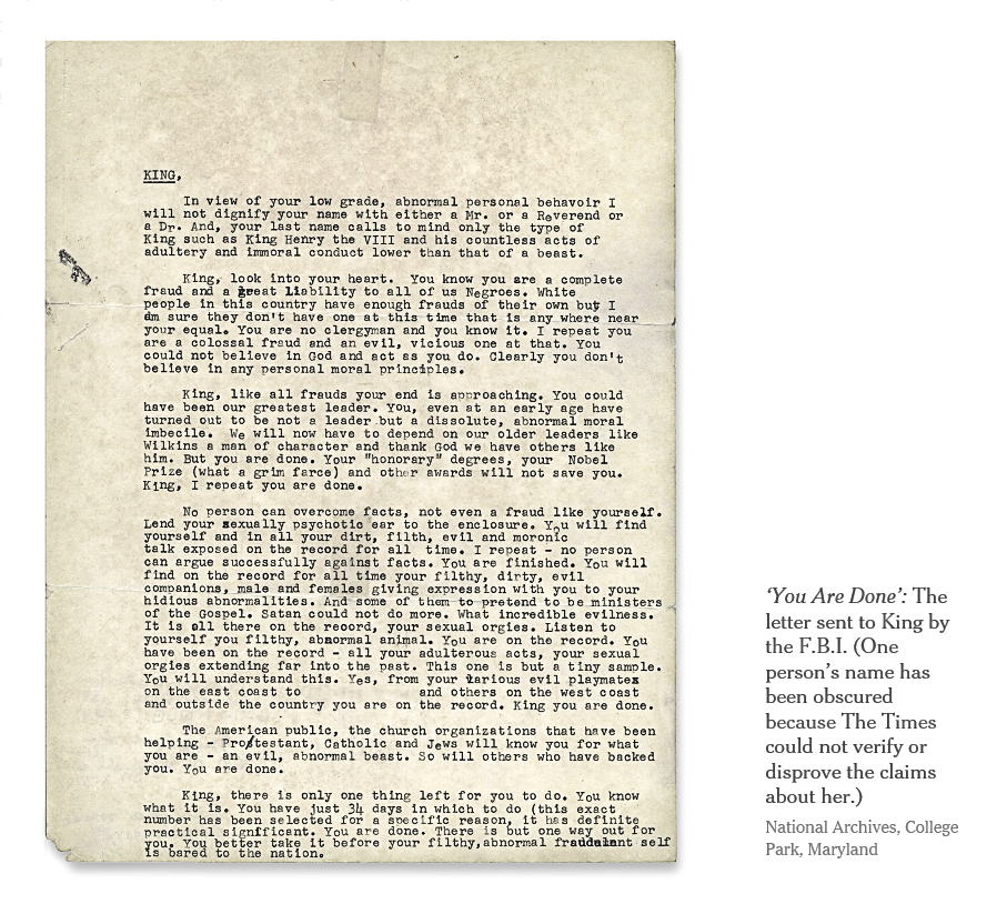 """The FBI's Documented Hate of Martin Luther King: Inside J. Edgar Hoover's """"Suicide Letter"""" to Civil Rights Leader"""