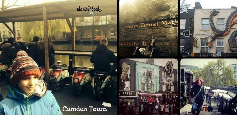 What to do in London with kids. A visit to Candem Market