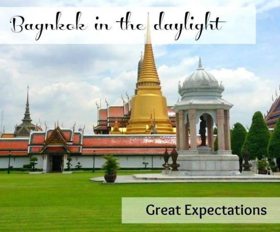Bangkok in the daylight Grand Palace