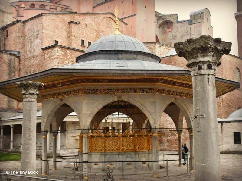 The Holy Soul of Istanbul: Hagia Sophia, Şadırvan (fountain), for ritual ablutions.