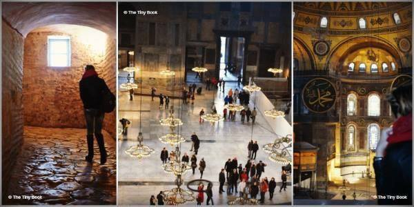 The Holy Soul of Istanbul: Hagia Sophia from the upper gallery