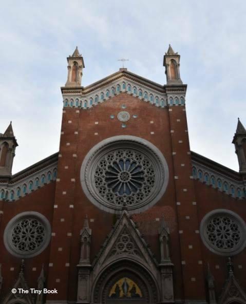 Saint Anthony, most important Catholic church of Istanbul.