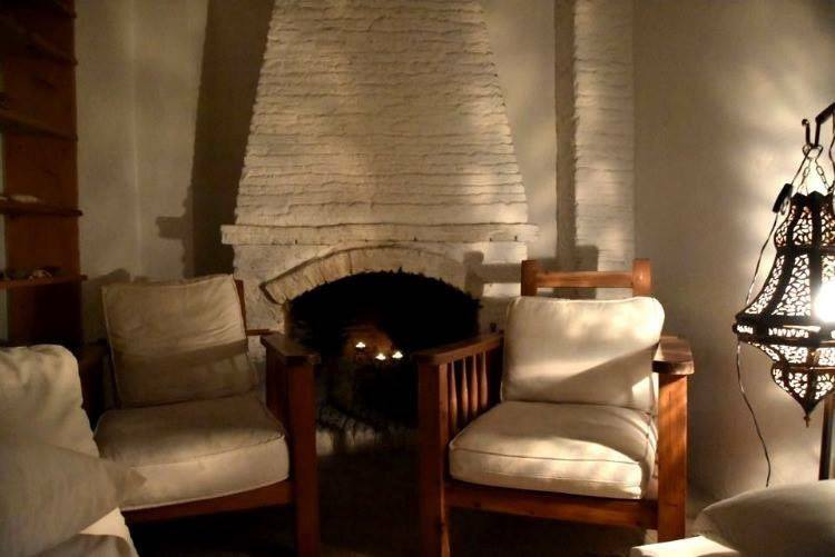Riad Baladin: Where Heaven Becomes Jealous. Reading corner in my room.