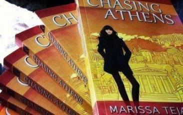 Chasing Athens - books. A novel by Marissa Tejada. Finding Home, Chasing Athens. Book review.