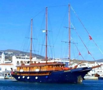 MS Galileo, cruising Greece