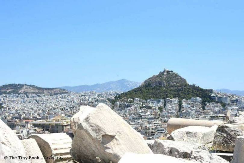 Athens Mythological Tour. Mount Lycabettus also known as Lycabettos, Lykabettos or Lykavittos