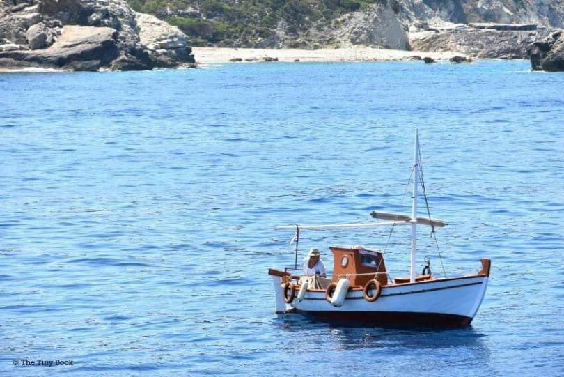 Sailing the Ionian with children, Paxos, Antipaxos and the Blue Caves of the Ionian Sea.