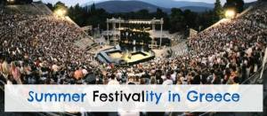 Summer Festivality in Greece - Athens and Folegandros