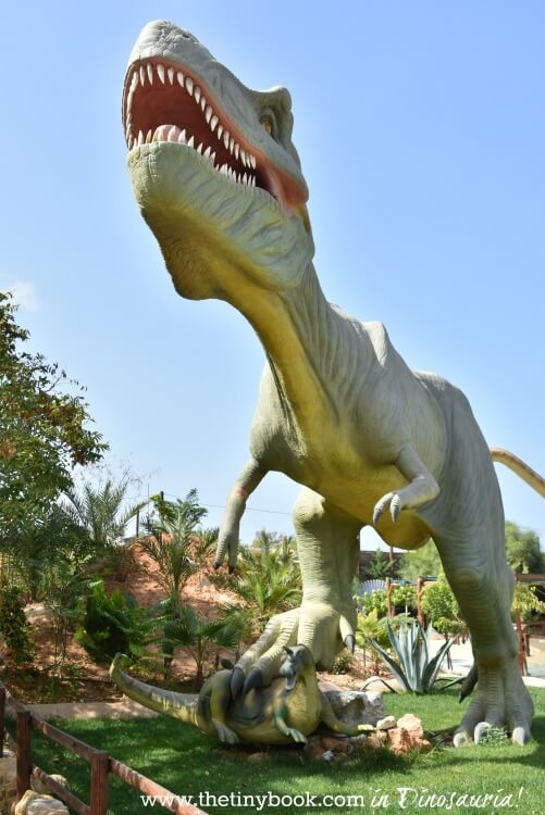 Are you in need for a break from stunning beaches, refreshing pools and archaeological sites? There's a theme park in Gournes, Heraklion, that might be what you're looking for: Dinosauria!