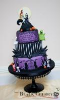 Tracey Rothwell (c) Nightmare before Christmas cake
