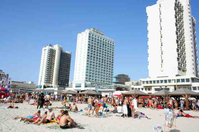 The Beach of Tel Aviv, Israel - one of the best places to visit in Israel, safe places to visit in israel, beautiful israeli